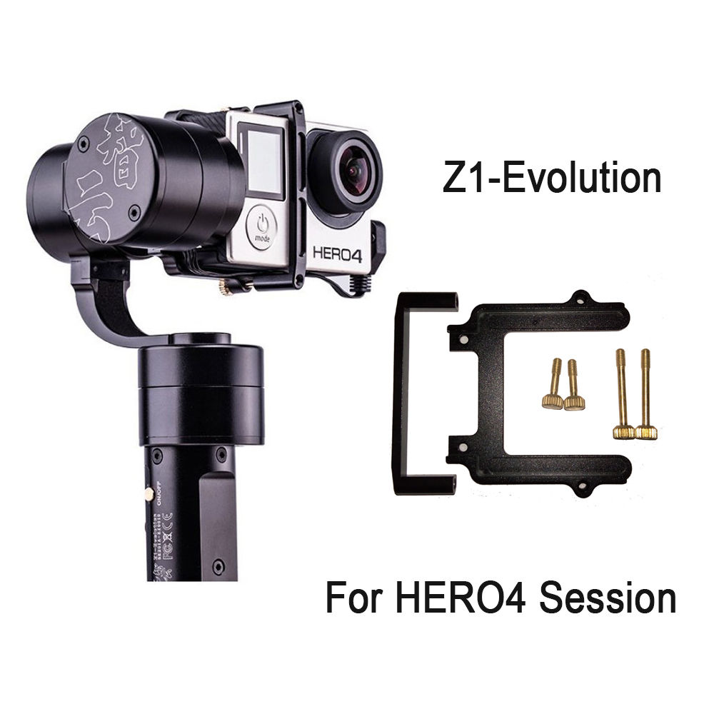 Zhiyun Z1-EVO 3 Axis Handheld Stabilizer Brushless Gimbal f GoPro Hero 4 Session