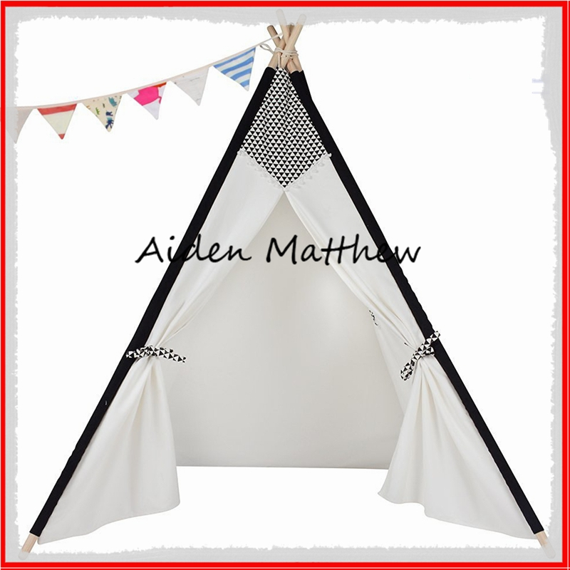 Eco Friendly Kids Folding Tent Canvas Tent For Kids Toy Tents