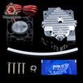 Trianglelab 3d piezas de la impresora/1,75/3mm de aluminio de Titan Aero extrusora Kit de actualización de 12 V/24 V ventilador envío gratis reprap mk8 i3
