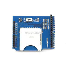 10pcs/lot SD Card Shield TF SD Expansion Board Reader Stackable for Arduino UNO