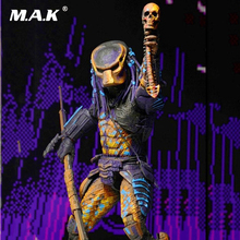 For Collection 18cm Predator 2 City Hunter Classic NECA Model Toy Gift 7 Inches PVC Action Figure Boys Brinquedos neca the terminator 2 action figure t 800 endoskeleton classic figure toy 7 18cm