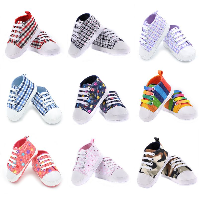 Infants-Baby-Boy-Girl-Soft-Sole-Crib-Shoes-Casual-Lace-Prewalkers-Sneaker-0-18M-X16-2