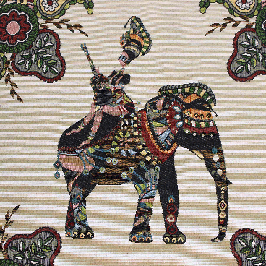 Us 24 98 Personalized Elephant Retro Jacquard Fabric Diy Home Patchwork Tilda Cloth Fabrics For Sewing Tecido Textile Tissue In Fabric From Home