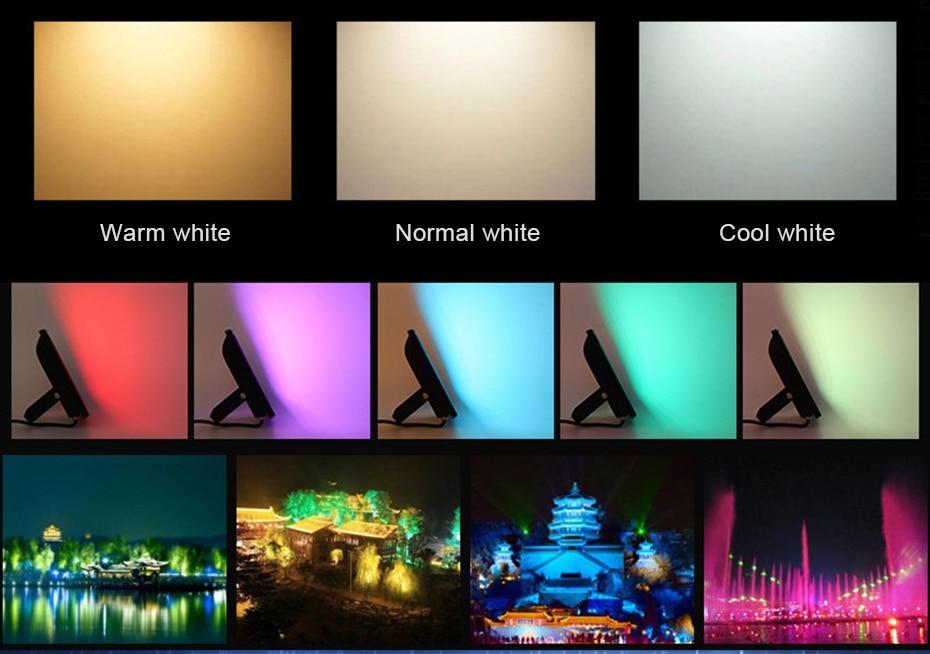 cor luz exterior pode ser escurecido ao