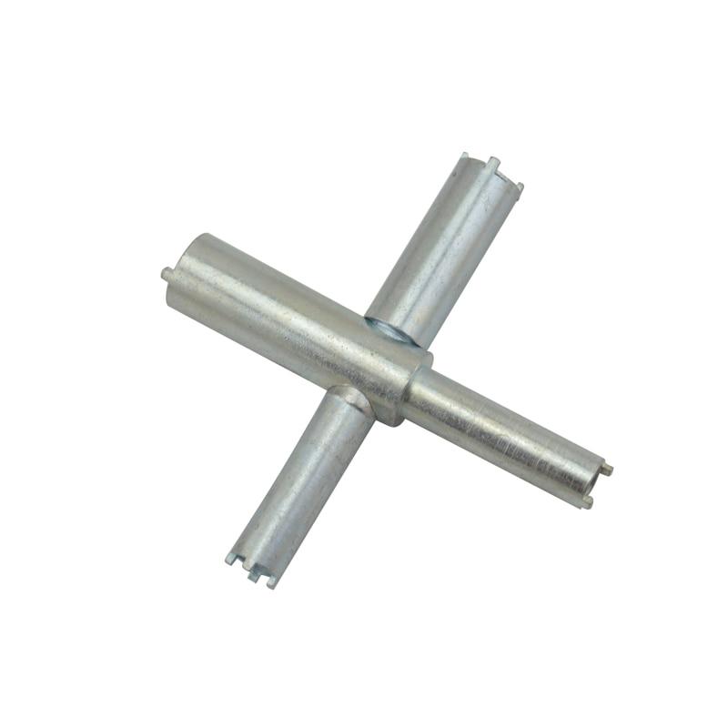 Portable Walkie Talkie Metal Repair Tool X-Key Teardown Wrench For Handheld Two Way Radios
