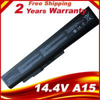 14.4V 8 Cells Laptop Battery A42 A15 40036064 for msi A6400 CX640(MS 16Y1) CR640 Gigabyte Q2532N DNS 142750 153734 157296
