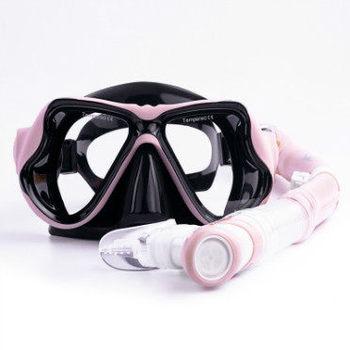 dry breathing tube anti-fog myopia goggles grown-up snorkelling equipment