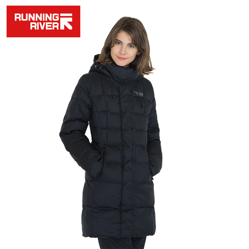 RUNNING RIVER Brand Women Winter Hiking & Camping Down High Quality Warm Jackets For Woman Winter Outdoor Clothing #L4992