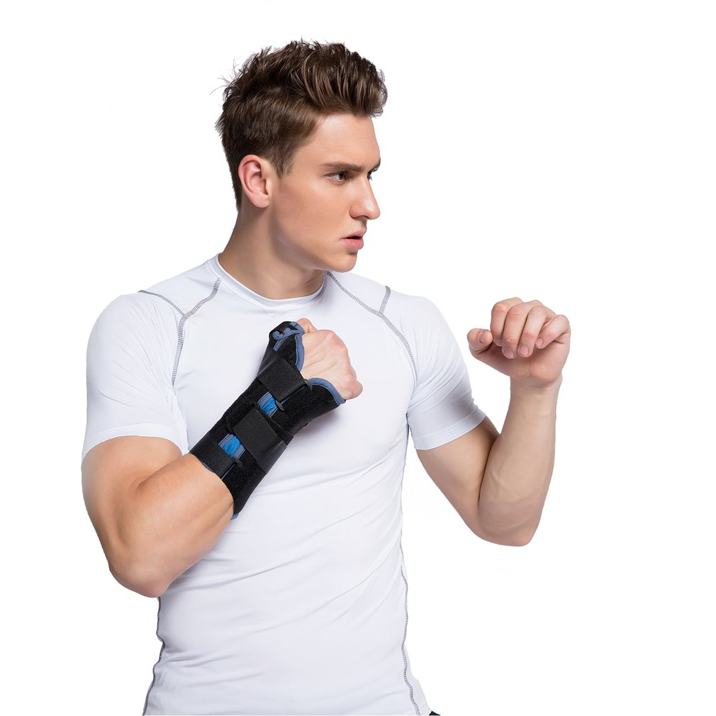 New Adjustable Soft Breathable Lightweight Wrist Brace Wrist Support with Thumb