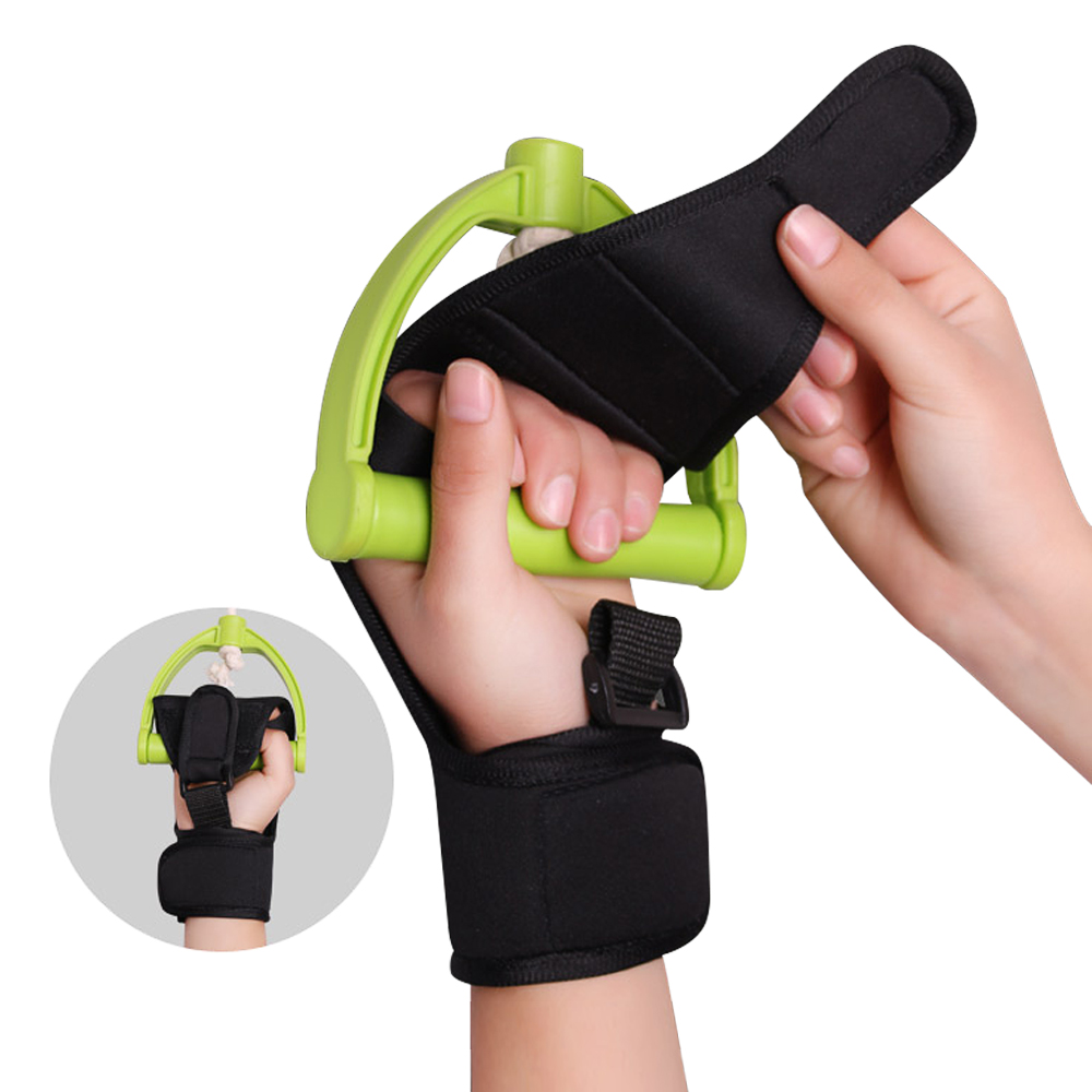 Anti-Spasticity Finger Rehabilitation Auxiliary Gloves Splint Finger Hand Recovery Grip Impairment Fixed Hand