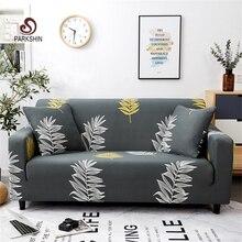 Parkshin Mode Blatt Hussen Sofa Abdeckung All inclusive Schnitts Elastische Voll Couch Abdeckung Sofa Handtuch 1/2/ 3/4 Seater