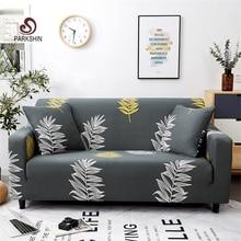 Parkshin موضة ورقة أغطية غطاء أريكة شاملة شامل الاقسام مطاطا غطاء أريكة كامل أريكة منشفة 1/2/3/4 مقاعد