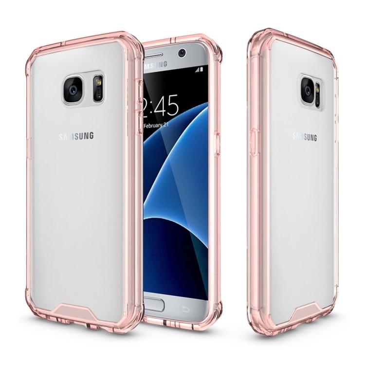Samsung Galaxy S7 üçün Kristal Təmiz Arxa Panel Qabıqlı Ultra - Cib telefonu aksesuarları və hissələri - Fotoqrafiya 1