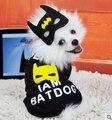 Spring and Autumn Cool Batman Pet Clothes Sweater Clothes Dog Fashion Clothes Pet Coat Clothes
