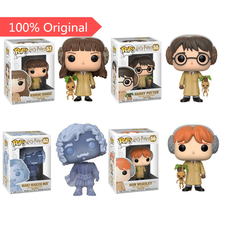 Funko Pop Official Harry Potter, Hermione, Ron, Tom Riddle, Gilderoy Lockhart Vinyl Action Figure Collectible Model Toy In Stock