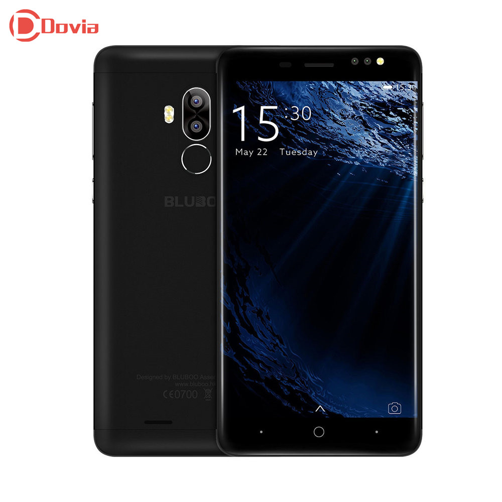 Bluboo D1 3G Smartphone 5.0 inch Android 7.0 MTK6580A Quad Core 1.3GHz 2GB RAM 16GB ROM Fingerprint Scanner Dual Rear...