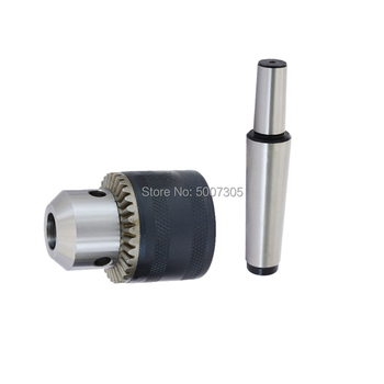 1pcs MTB3 MTB2 to B10 B12 B16 B18 Morse Taper Shank Drill Chuck Arbor adapter thread M10 M12 Drilling Lathe 12mm thread dia sds plus round shank drill chuck adapter connector gray