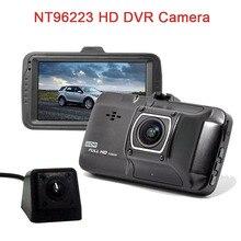 NT96223 HD DVR камеры 170 градусов парковки мониторинга металлический супер инфракрасного ночного видения King два объектива/один объектив регистраторы