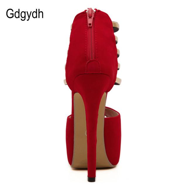 2017 Summer Fashion High-Heeled Shoes