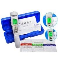 professional Digital PH Meter ORP Meter water quality tester ph Pen test Water 2 in1  protable PH ORP tester soil ph meter