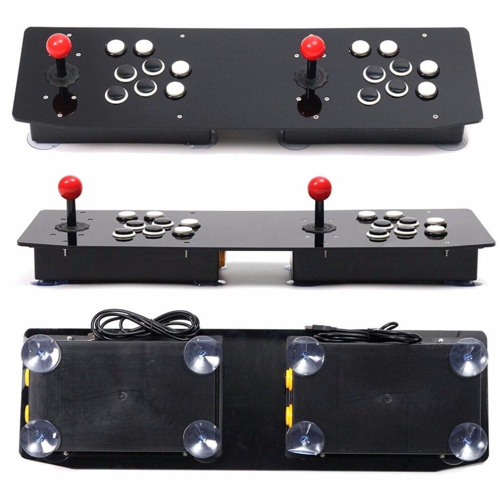 Conception ergonomique Double Arcade bâton jeu vidéo manette manette manette pour Windows PC profitez du jeu amusant - 5
