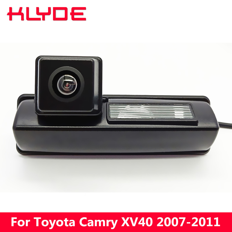 KLYDE Car HD Rear View Reverse Parking Camera 170 Degree Waterproof Night Vision For Toyota Camry XV40 2007 2008 2009 2010 2011