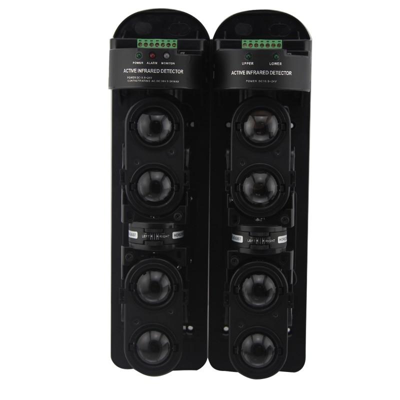 LPSECURITY alarm zewnętrzny System na podczerwień detektor wiązki/cztery Beam fotoelektryczny bezpieczeństwa na podczerwień czujnik 300 metrów w Zestawy systemów alarmowych od Bezpieczeństwo i ochrona na AliExpress - 11.11_Double 11Singles' Day 1
