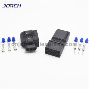 Image 2 - 5 takım 3 pin Enjektör ABS Sensörü elektrik teli Konnektör Dişi Ve Erkek soket 09 4413 11/22140492050 Benz Için BMW Kostal