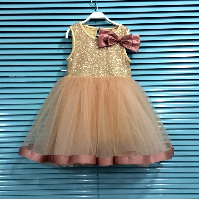 EMS DHL Free Girls Tutu Lace Dress Childrens Dress Sequins 2016 Christmas New Summer Casual Fashion Sleeveless Vest Dress