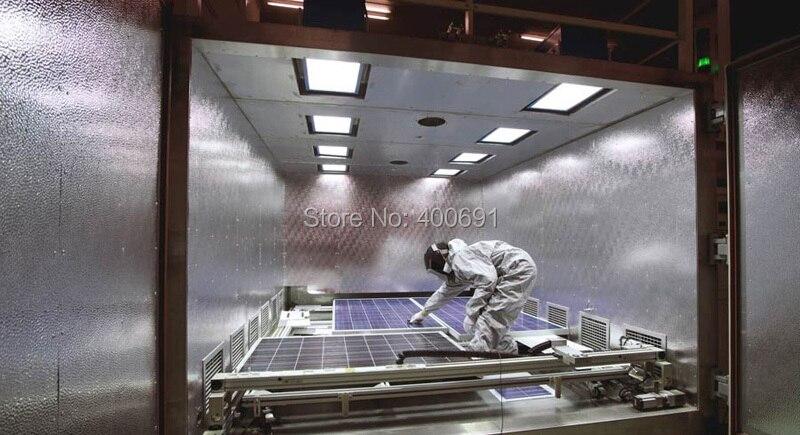 célula solar, Fl 125 x 125, Leve