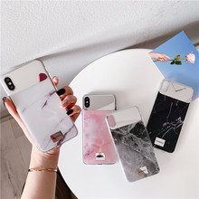 iwalk bcm002ih fashion mirror design protective plastic back case for iphone 5 black Plating marble phone case For iphone XS MAX XR X luxury mirror hard plastic case For iphone 6 6s 7 8plus back cover