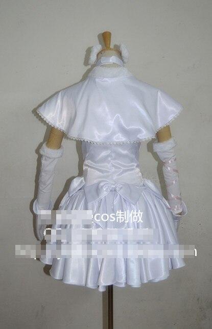 Cosplay Livraison Setsuna Costume Uniformes Ogiso Blanc Album Gratuite wvqCII