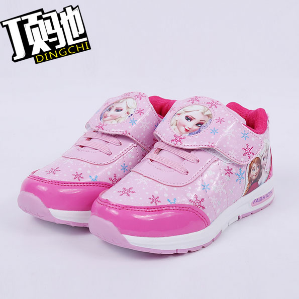 f739429ef77 fashion designer children shoes girl trainer breathable loafers tenis anna  elsa cotton shoe kids comfortable casual