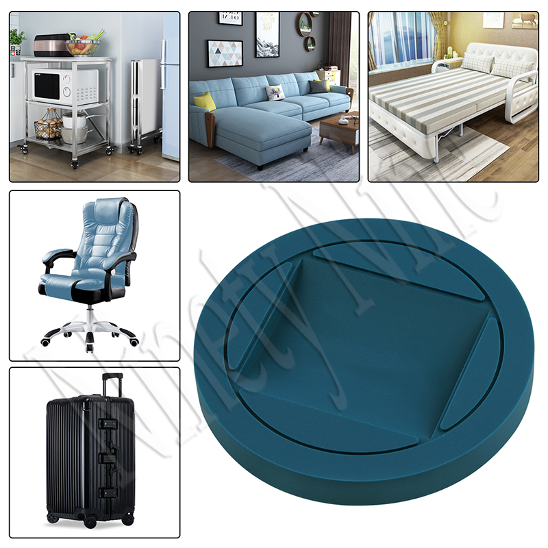 4PCS Rubber Furniture Cups Bed Stoppers  Furniture Cups Premium Furniture Wheel Stoppers Fits To All  Of Furniture Protectors