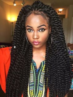 5pcs Havana Mambo Twist Crochet Braid Hair Kinky Marley