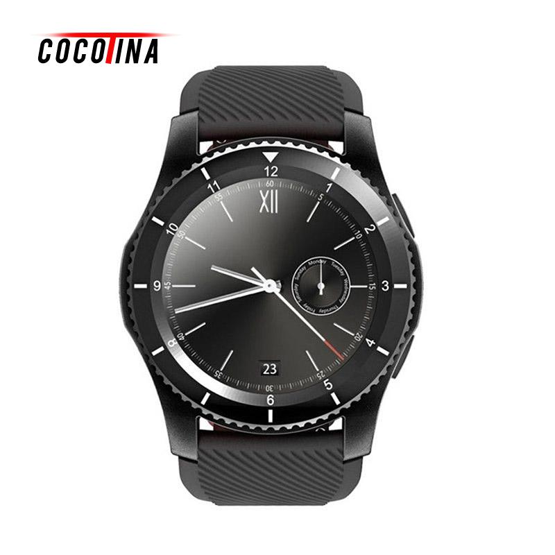 COCOTINA Wristwatch Bluetooth Smart Watch With SIM Camera For IOS Android Smartwatch Sport Pedometer Phone Call LSB1244 no 1 d5 bluetooth smart watch phone android 4 4 smartwatch waterproof heart rate mtk6572 1 3 inch gps 4g 512m wristwatch for ios