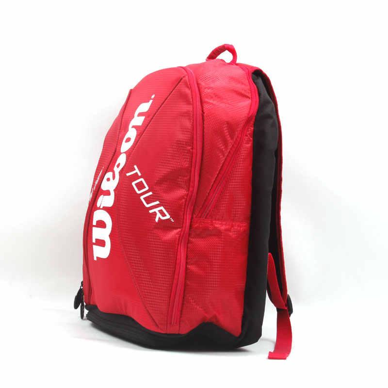 Original Tennis Bag Sport Backpack Racquet Sports Bag For Men Women With Shoe Storehouse