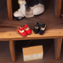 OB11 doll shoes bowknot small leather shoes suitable for OB1