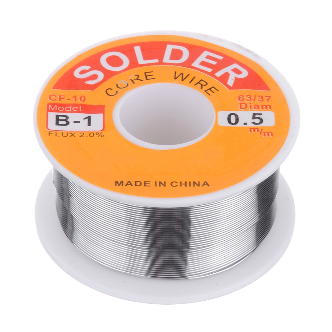 Welding Flux Soldering Wire 50g/100g  63/37 Rosin Core Welding Tin Lead Solder Iron Wire Reel 2.0% 0.8mm/1.0mm