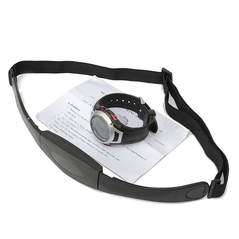 Watch Monitor Chest-Strap Heart-Rate Outdoor Fitness Sports Running with Electronic-Wristwatches