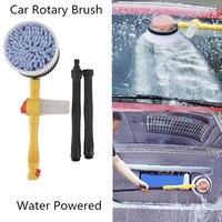 Vehemo 3 Hydraulic Levels Car Wash Brush Automatic rotation Foam Washer Car Cleaning Washing Spone High Pressure Free Shipping