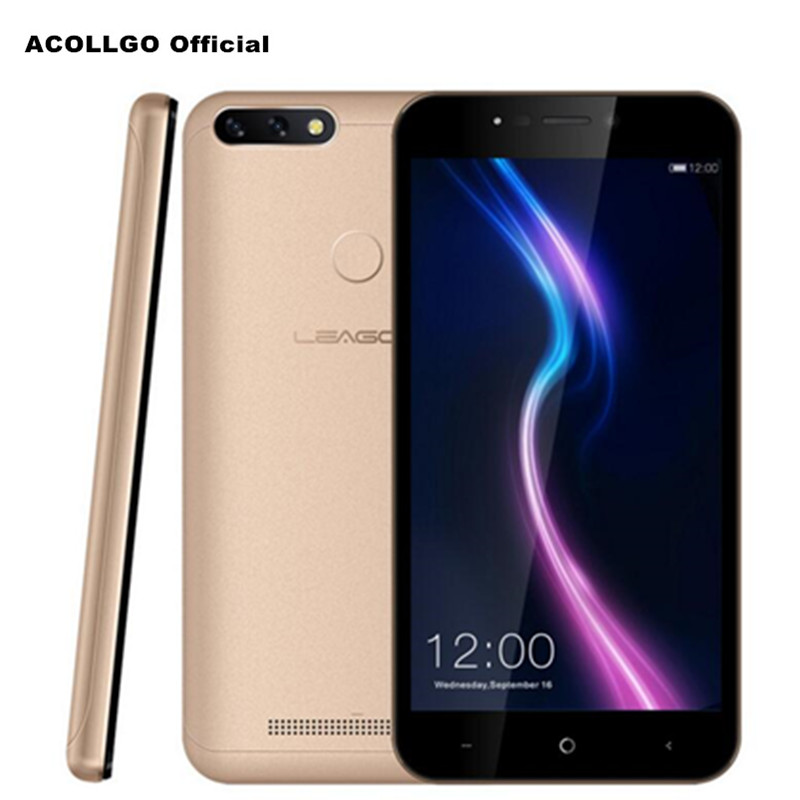 LEAGOO Puissance 2 Pro 5.2 HD 4000 mah 5 v/2A Charge Rapide Android 8.1 MT6739 Quad Core 4g SmartPhone 2 gb + 16 gb 8MP OTG Face Touch ID