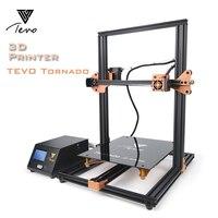 2018 новейший TEVO Tornado Полностью Собранный 3d принтер Impresora 3D Полная алюминиевая рама с титановым Экструдером Большая область печати