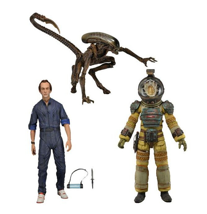 Aliens18cm KANE DOG ALIEN BISHOP Action Figures PVC brinquedos Collection Figures toys For Birthday gifts With Retail box puppy canina juguetes towerbig toys russian anime doll action figures car parking puppy dog toy gifts everest dog children gifts