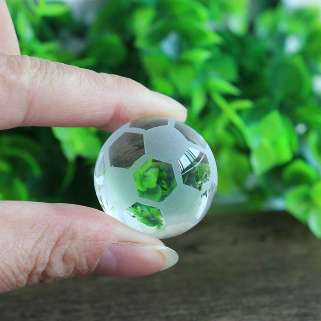 Crystal Soccer Ball Kids Fans Gifts