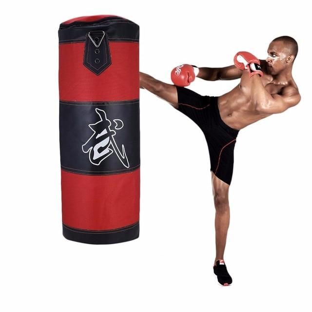 0d2a8782c Das Mulheres dos homens Inflável de Boxe Punching Bag Chute Soco Alvo MMA  Sacos De Areia