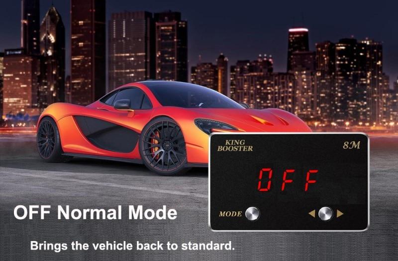 OFF mode throttle controller