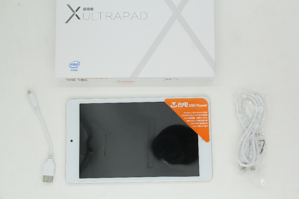 Newest! Teclast X80 Power Tablet PC 8.0 inch Win10 + Android 5.1 Z8300 64bit Quad Core 2GB RAM 32GB ROM IPS Screen Bluetooth