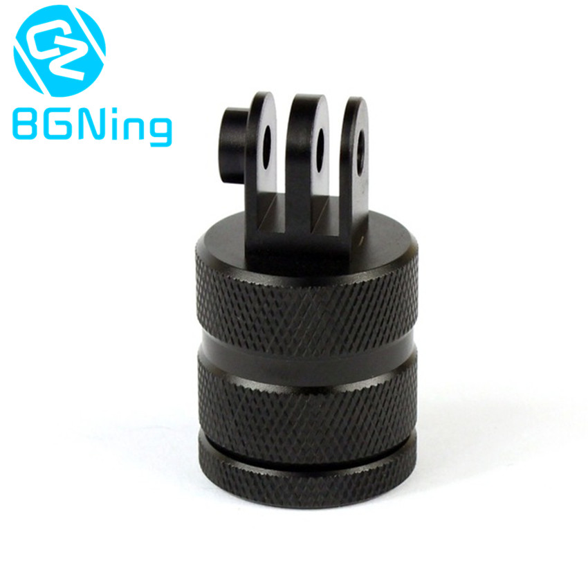 360 Degree Rotation 12 Direction Positions Camera CNC Connector Tripod Mount Adapter for GoPro Hero 3+ 4 5 6 Session Xiaomi Yi