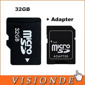 32-GB-TF-Card-micro-sd-memory-card-SD-Card-Adapter-Plastic-Box-For-DVD-TV